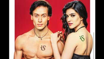 Tiger Shroff and Kriti Sanon get inked for American Swan