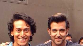 Tiger Shroff shared his star-struck moment with Hrithik Roshan