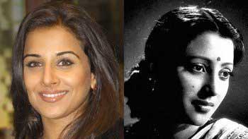 Vidya Balan to Do a Biopic on Suchitra Sen's Life