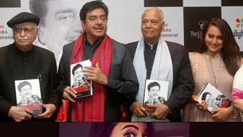 Sonakshi Sinha attends father Shatrughan Sinha's biography launch in Delhi