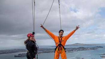A Glimpse of Siddharth Malhotra's 'SkyWalk' in Auckland