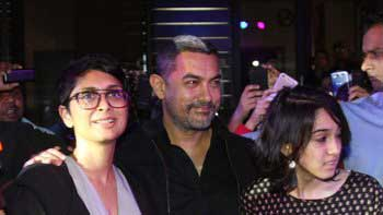 Aamir Khan attends premiere of 'Star Wars: The Force Awakens'