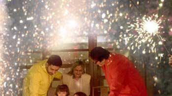 Aaradhya Bachchan's Diwali celebration