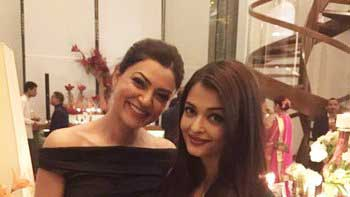 Aishwarya Rai Bachchan, Sushmita Sen clicked together