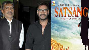 Ajay To Come Up With A Film Titled 'Satsang' Collaborating With Prakash Jha
