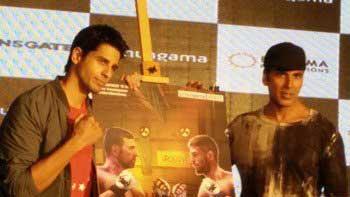 Akshay Kumar, Siddharth Malhotra at 'Brothers' Movie Game launch