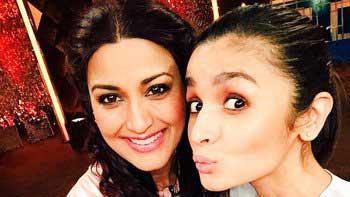Alia Bhatt Shot For Popular TV Show 'Mission Sapne'