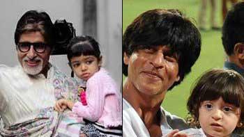 Amitabh Bachchan adores Aaradhya-AbRam pairing