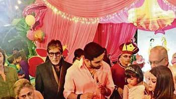 Amitabh Bachchan pens a beautiful poem for grand-daughter Aaradhya