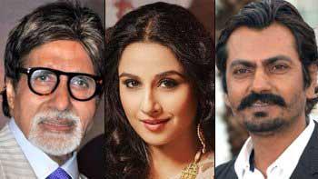 Amitabh Bachchan, Vidya Balan, Nawazuddin Siddiqui to share the screen in 'TE3N'