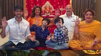 Bollywood stars Ganesh festival celebration