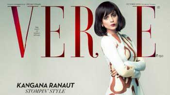 Check out Kangana Ranaut sizzles on the cover of Verve