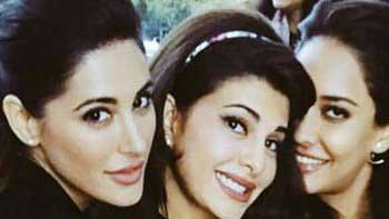 Check out picture of Jacqueline Fernandez, Nargis Fakhri and Lisa Haydon!
