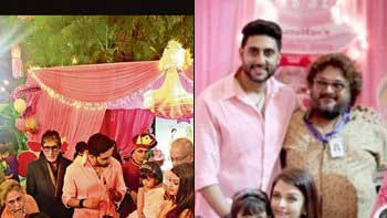 Check out pink birthday bash of Aaradhya Bachchan!
