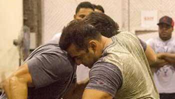 Check out Salman Khan's vigorous workout for 'Sultan'