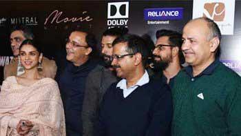 Delhi CM Arvind Kejriwal watches 'Wazir' with film's star cast