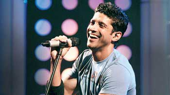 Farhan Akhtar prepping up for his music single
