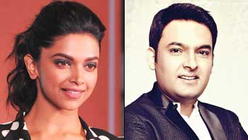 Find Out How Deepika Padukone Made Kapil Dance On The Sky!