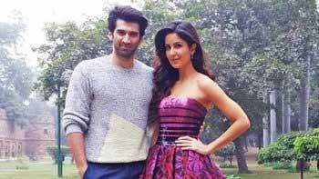'Fitoor' couple Katrina - Aditya launch song 'Pashmina' in New Delhi!