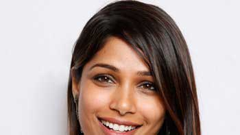 Freida Pinto co-hosts a special dinner at the World Economic Forum in Switzerland