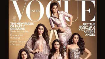 Gorgeous B-Town Ladies Shine On The Vogue Cover