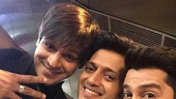 'Great Grand Mast' Trio Vivek-Ritesh-Aftab Kick Start The Shoot!