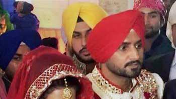 Harbhajan Singh, Geeta Basra's big fat Punjabi wedding becomes talk of the town