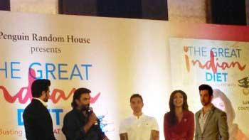 Hrithik attended Shilpa Shetty's Book Launch even without actually attending it!