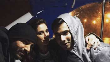 It's party time for the stars on the sets of 'Dishoom'