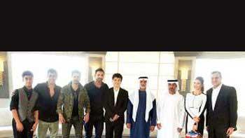 John Abraham, Jacqueline Fernandez, Varun Dhawan's lunch date with Abu Dhabi Sheikh