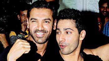 John Abraham, Varun Dhawan to go bare chest for a key scene in 'Dishoom'