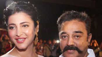 Kamal Haasan to work with daughter Shruti Haasan once again