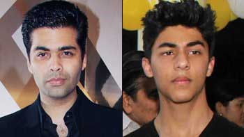 Karan Johar To Launch Shah Rukh Khan's Son Aryan!