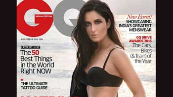 Katrina Kaif flaunts sizzling look on the cover of GQ