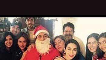 Katrina Kaif snapped at Kapoor Khaandaan's Christmas party
