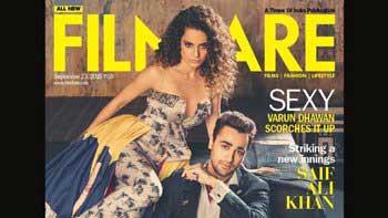 'Katti Batti Stars Sizzle on the Filmfare Cover