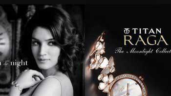 Kriti Sanon becomes brand ambassador of Titan Raga's The Moonlight Collection