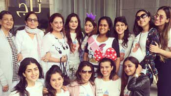 Mom-to-be Arpita Khan Sharma looks gorgeous at her baby shower