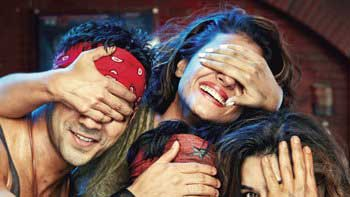Much Awaited First Look Unveiled! - 'Dilwale'