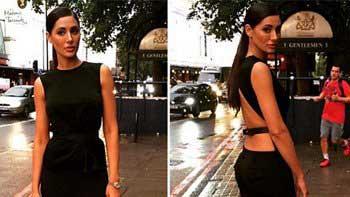 Nargis Fakhri steals the show at Lakme Fashion Week