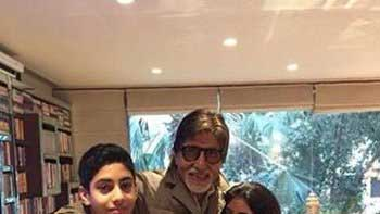 Navya Naveli shares picture with her grand-father Amitabh Bachchan