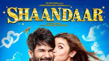 Official First Look poster of 'Shaandaar' out now!