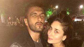 Ranveer Singh, Kareena Kapoor Khan strike a pose together