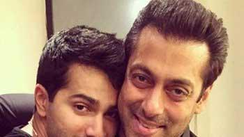Salman Bonds With Varun