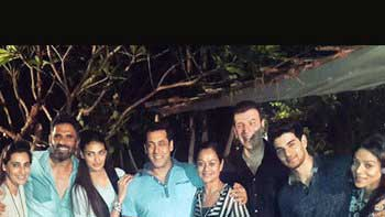 Salman Khan hosts a Special Screening of 'Hero' for Sooraj & Athiya's families!