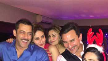 Salman Khan's Christmas party with Saif Ali Khan and Kareena Kapoor Khan
