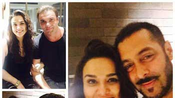 Salman Khan's Special Surprise Birthday Party For Preity Zinta
