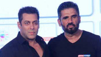 Salman Khan to launch Suniel Shetty's son Aahan Shetty