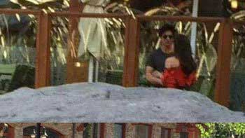 Shah Rukh Khan, Kajol snapped while shooting for 'Dilwale'