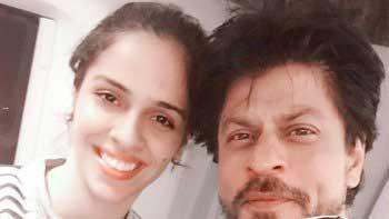 Shah Rukh Khan made Saina Nehwal's wish come true!